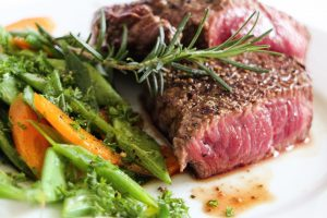 Steak zum Abendessen für die Detox Kur - 25 tage BodyFit